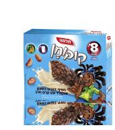 קוקומן חטיף דגנים בטעם שוקולד עם קרם חלב