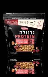 גרנולה Protein שקדים וחמוציות
